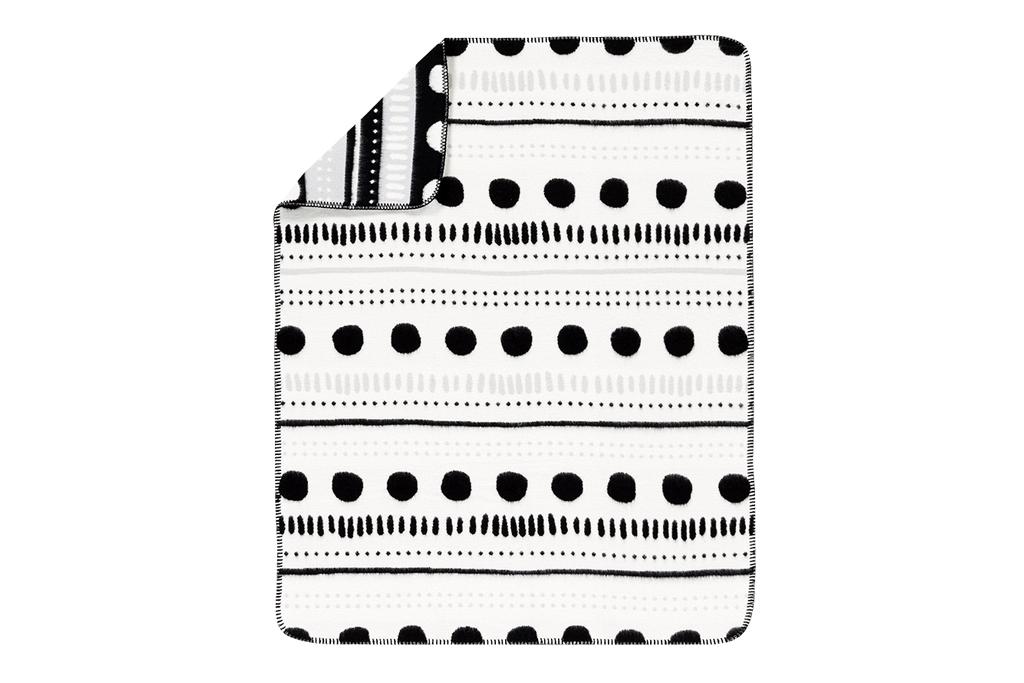 Margo Dot and Stripe Blanket