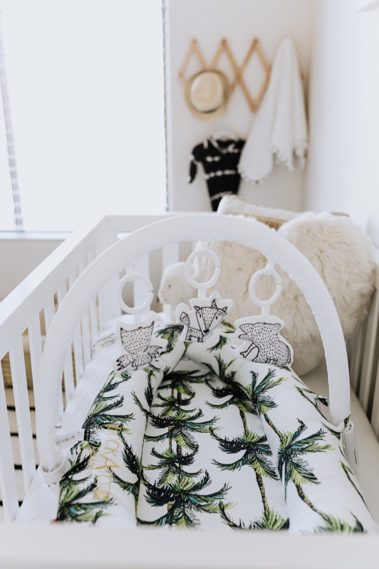 Palm Beach Meets Boho Chic Nursery