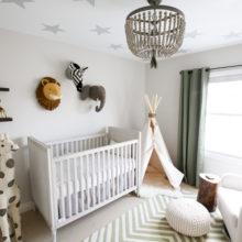 photo of A Safari Themed Baby Boy Nursery