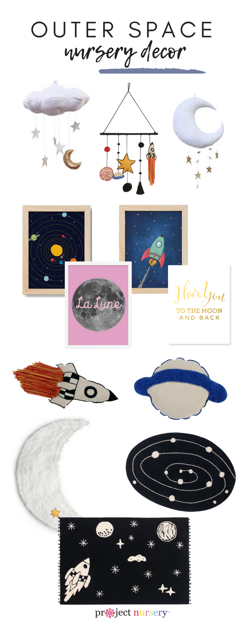 Outer Space Nursery Decor