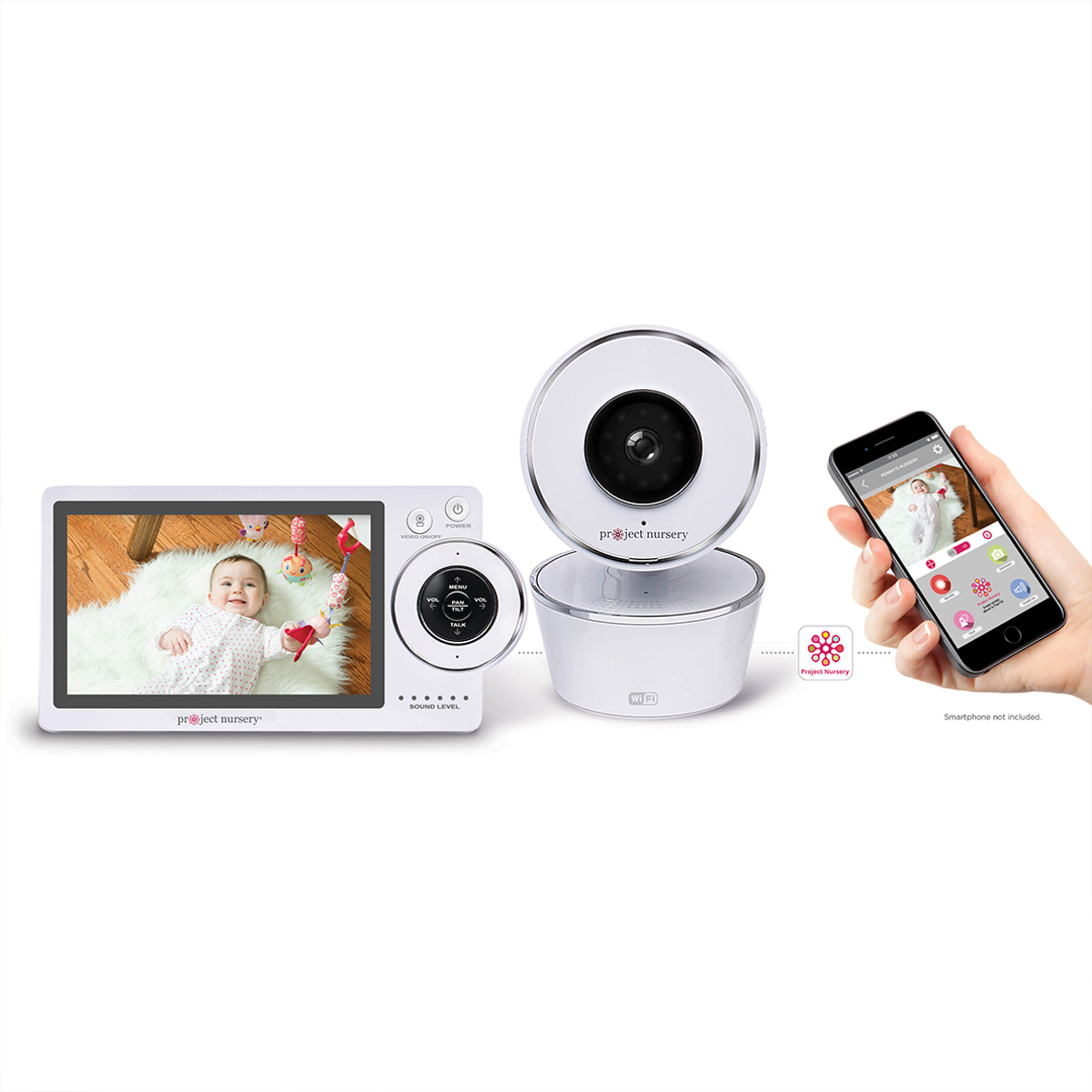 "5"" Dual Connect Wi-Fi Baby Monitor"