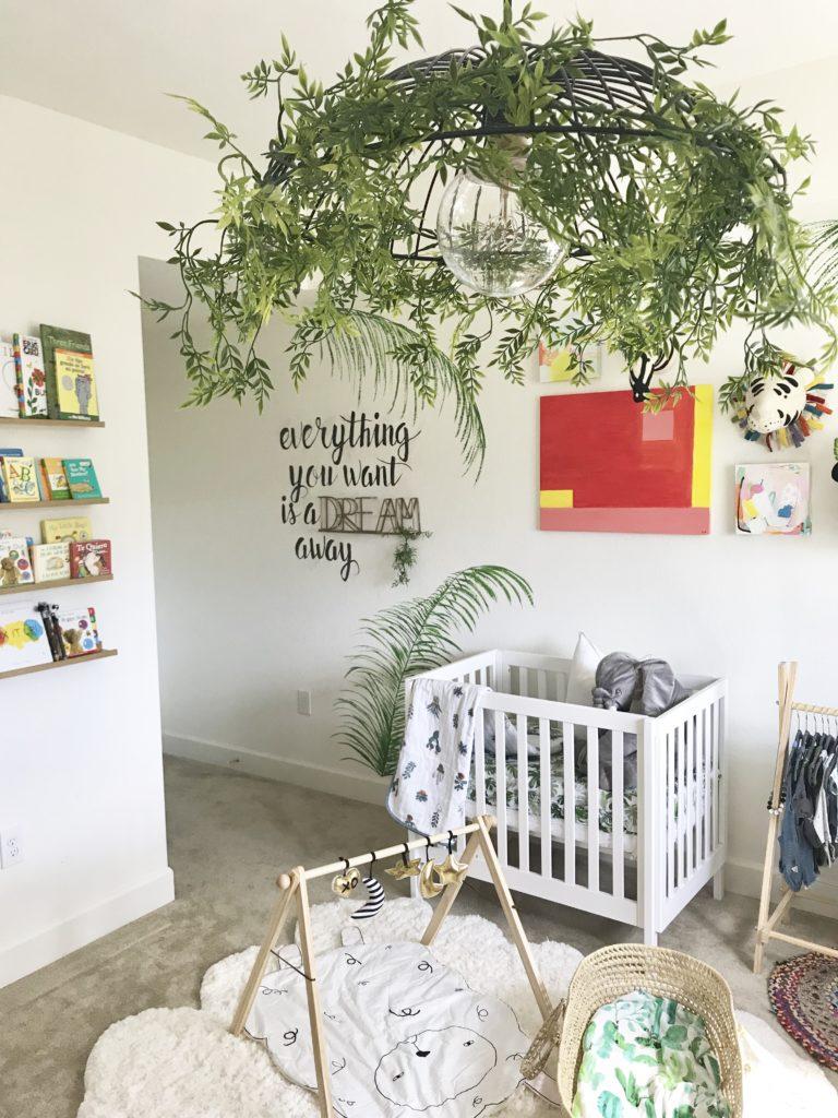 Tropic Paradise meets Boho DIY Nursery