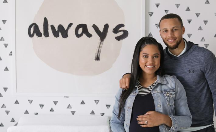Ayesha and Steph Curry's Nursery