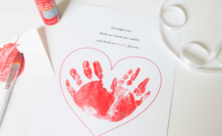 Grandparents Day Craft with Free Printable