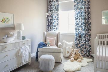 Sweet Timeless Nursery Design by Eggshell Home