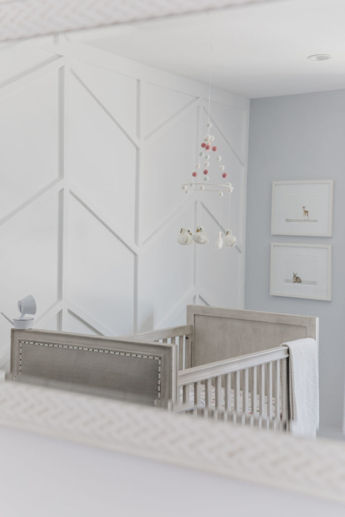 Gray And Pastel Swan Inspired Nursery Project Nursery