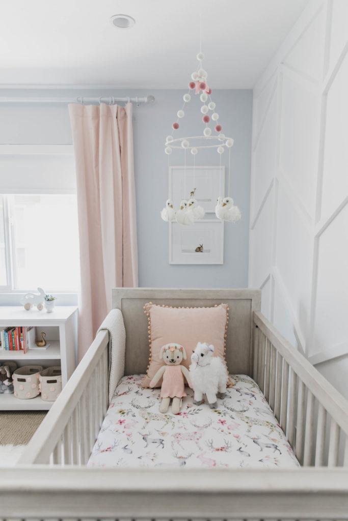 Gray And Pastel Swan Inspired Nursery Project Nursery