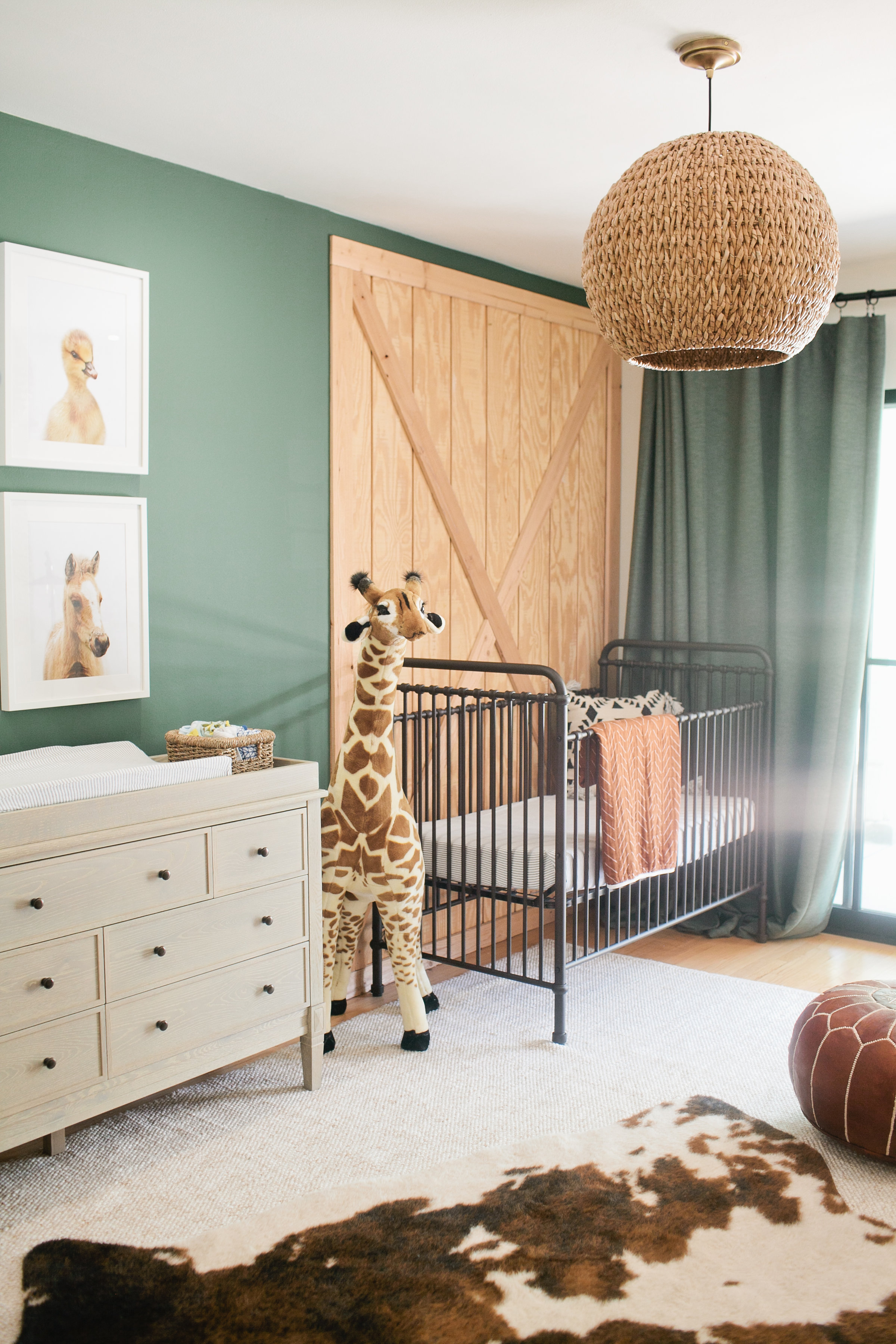 A Chic Nursery That Puts A Boho Twist On The Safari Theme