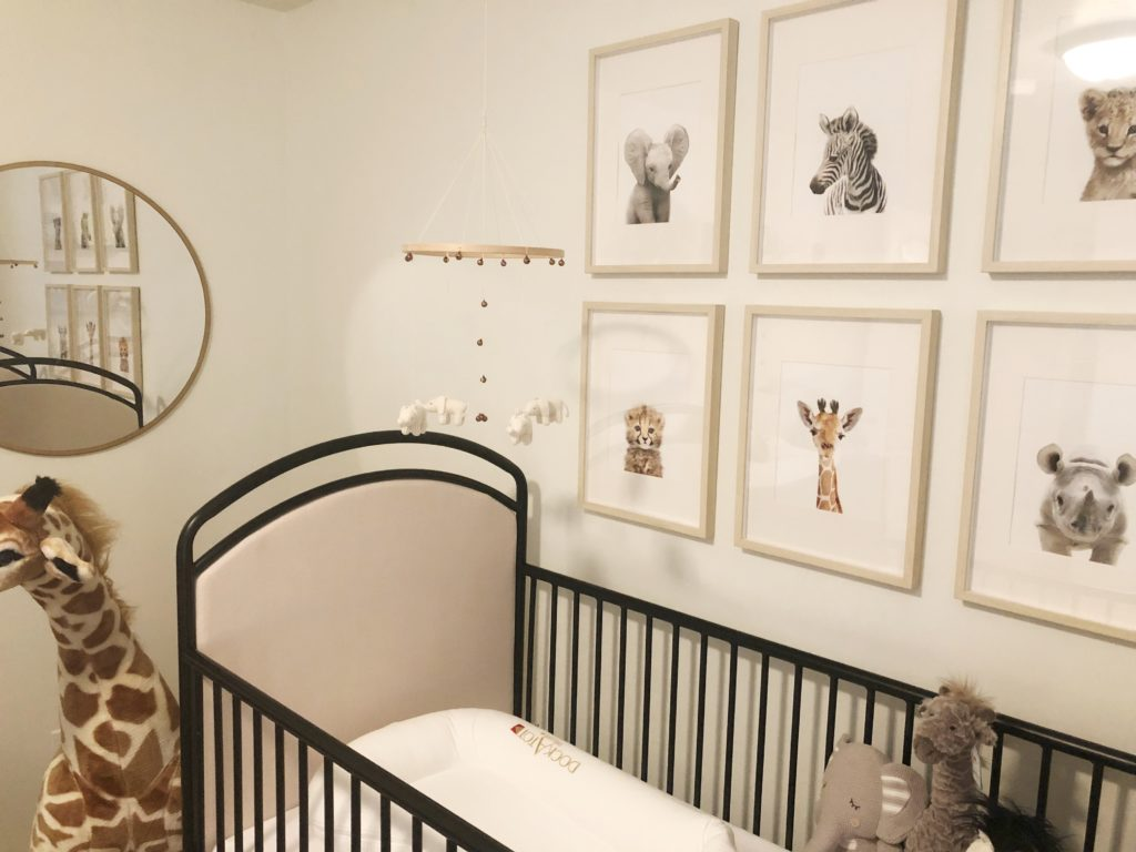 Gender Neutral Safari Nursery Project Nursery