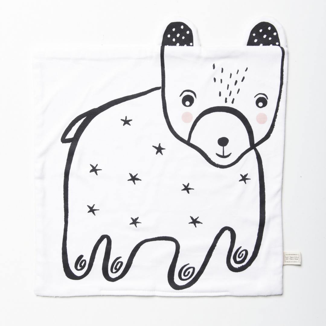 Organic Bear Snuggle Blanket
