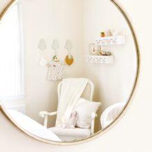 photo of Sweet Cream Nursery Nook