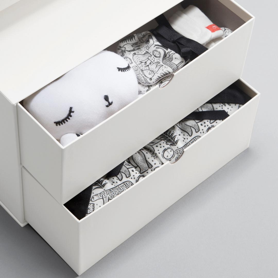 Goumi Kids + Wee Gallery Collaboration - Newborn Smartbox Bundle in Kinship