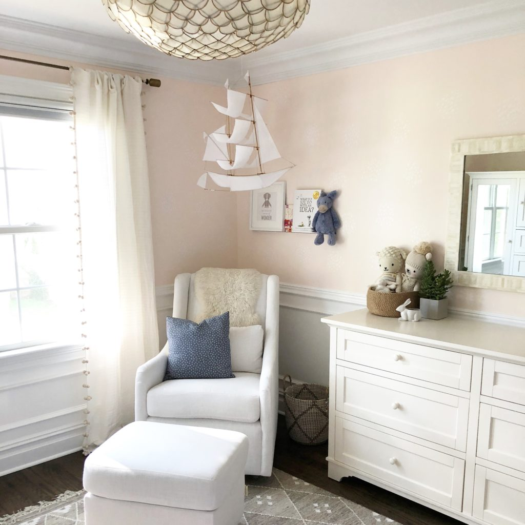 Baby Girl Nursery Tour: Modern Whimsical Nursery For Baby Girl