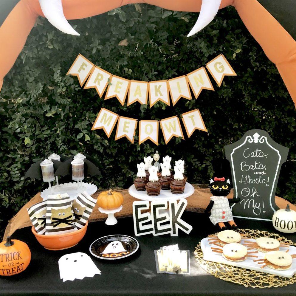 Vintage Kids Halloween Party