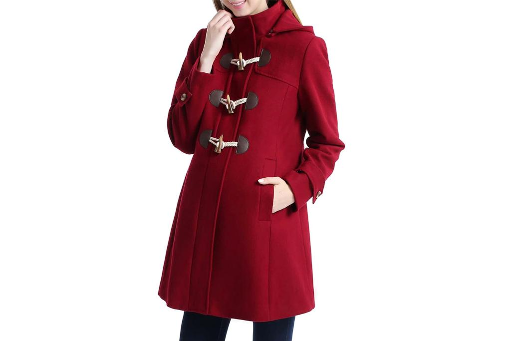 Paisley Maternity Duffle Coat