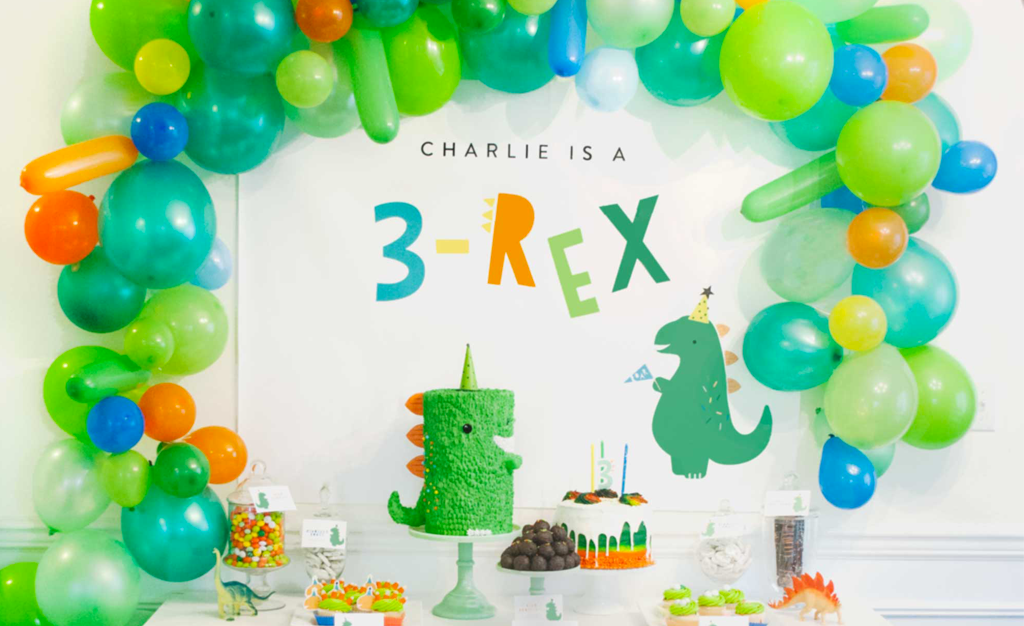 This 3 Rex Birthday Party Is A Roaring Good Time Project
