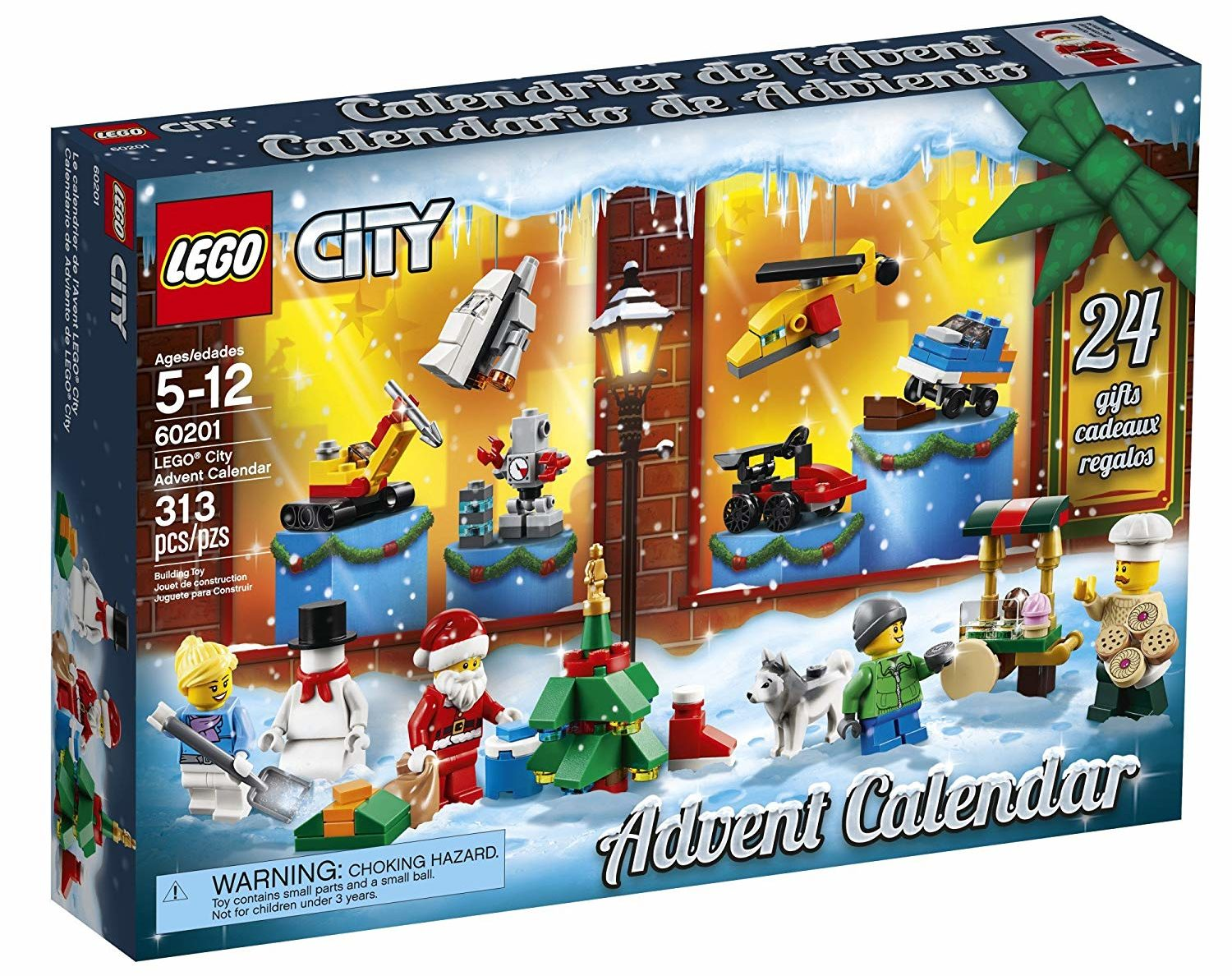 LEGO City Advent Christmas Countdown Calendar