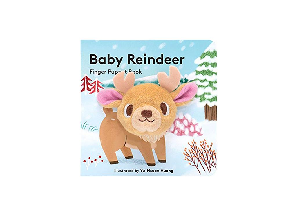 Baby Reindeer Puppet Book