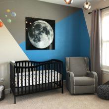photo of Preston's Space Themed Nursery