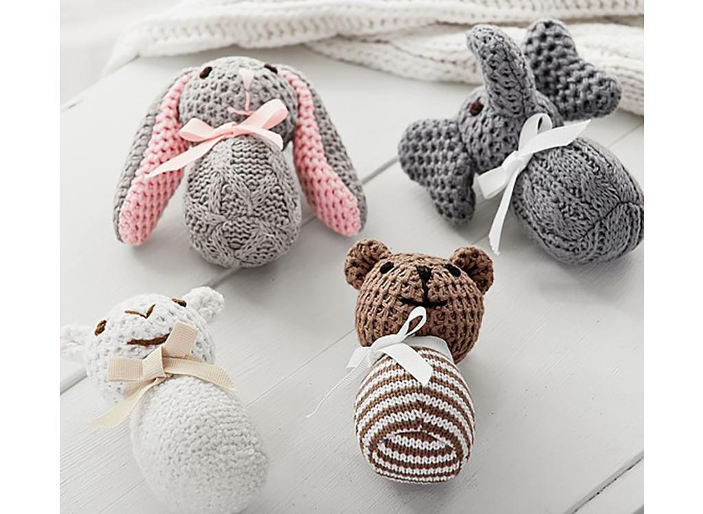 Knit Rattles