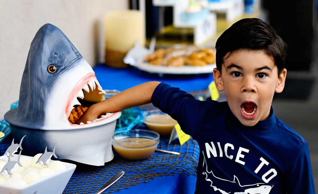 photo of A Fin-tastic Shark Birthday Party!