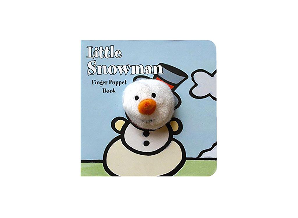 Snowman Puppet Book
