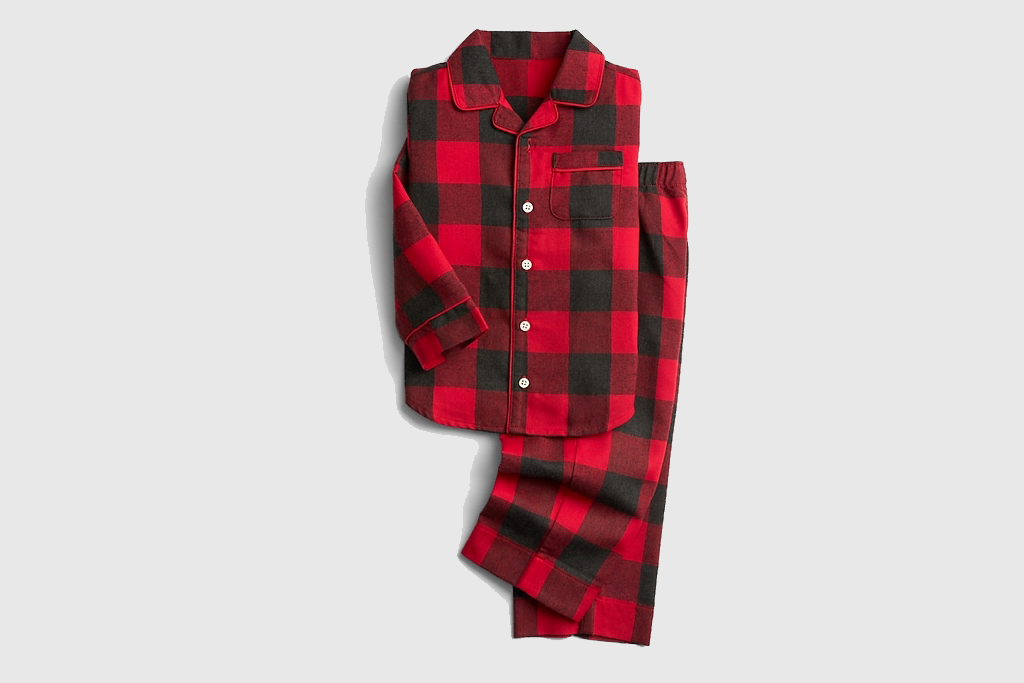 Buffalo Plaid Button Down Pajamas