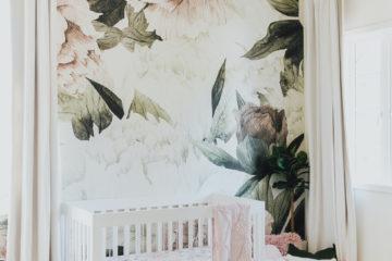 Flora Nursery Design by Little Crown Interiors