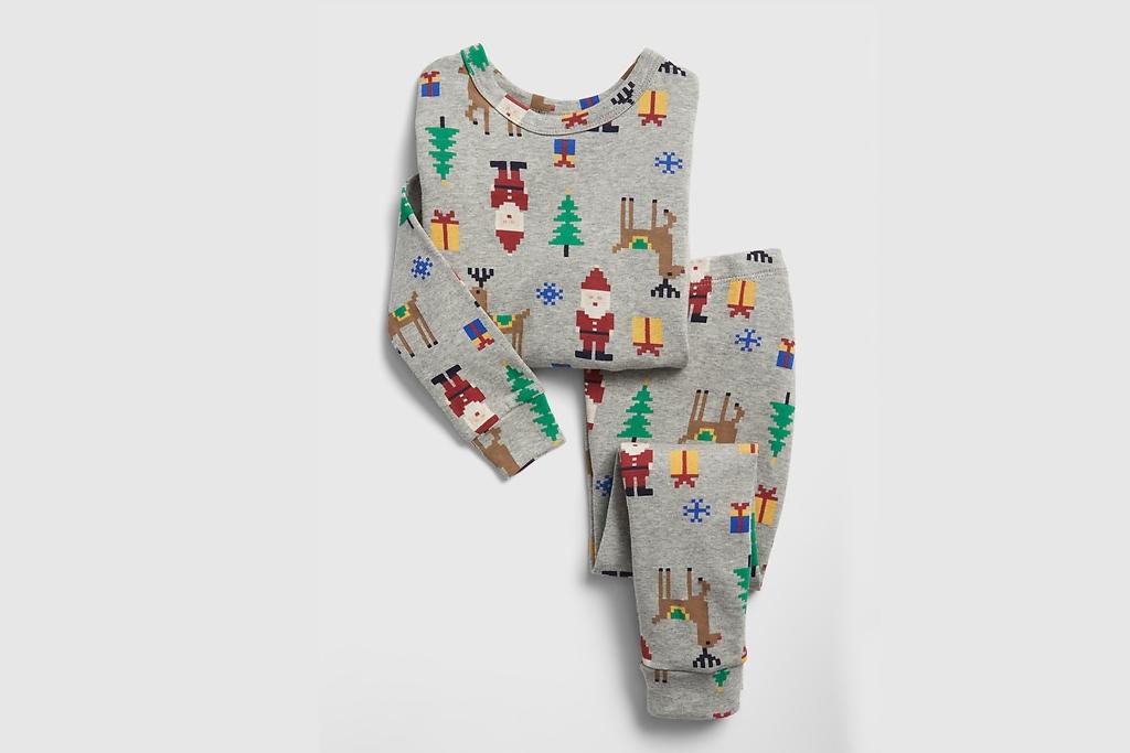 Pixel Santas Pajamas