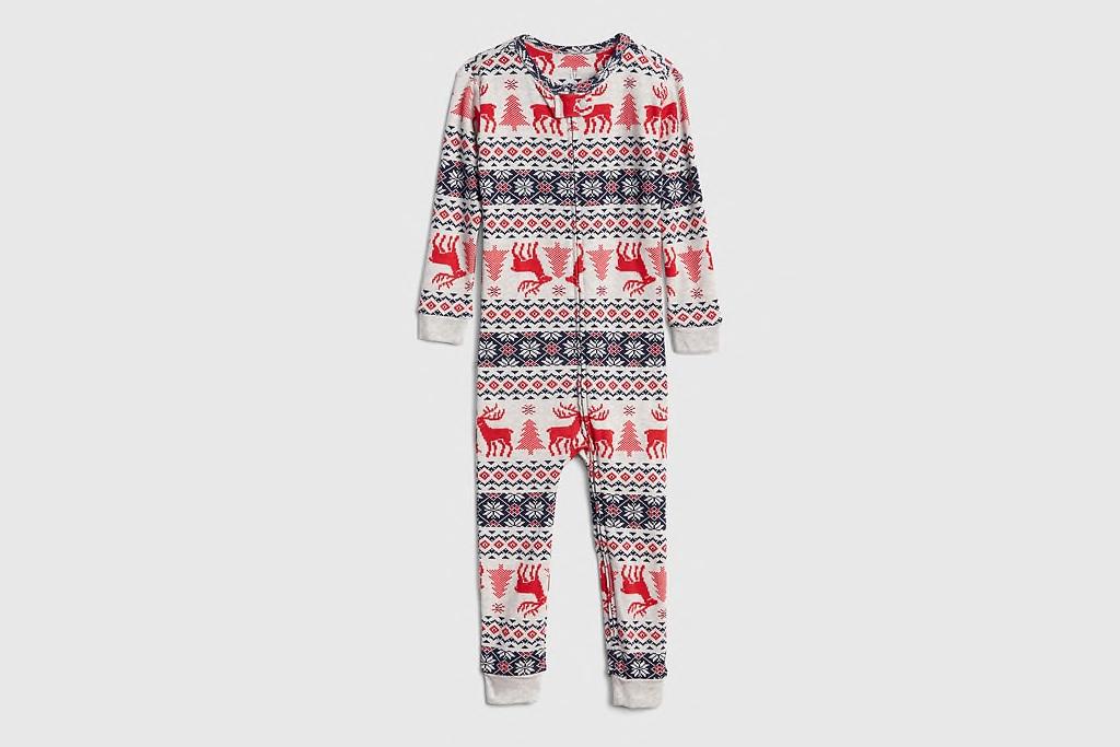 Reindeer Fairisle Pajamas