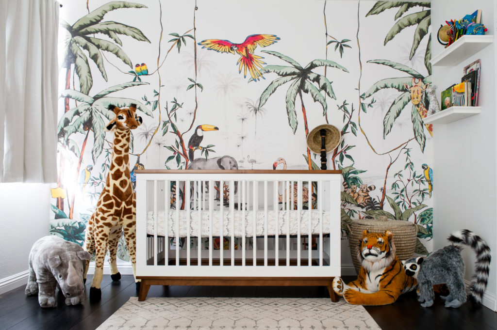 A Colorful Jungle Safari Nursery Project Nursery