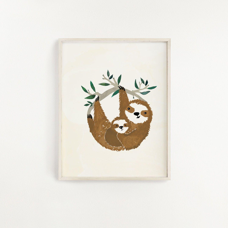 Slow Living Art Print