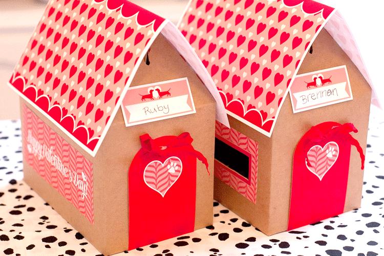 Free Printable Valentines Mailbox
