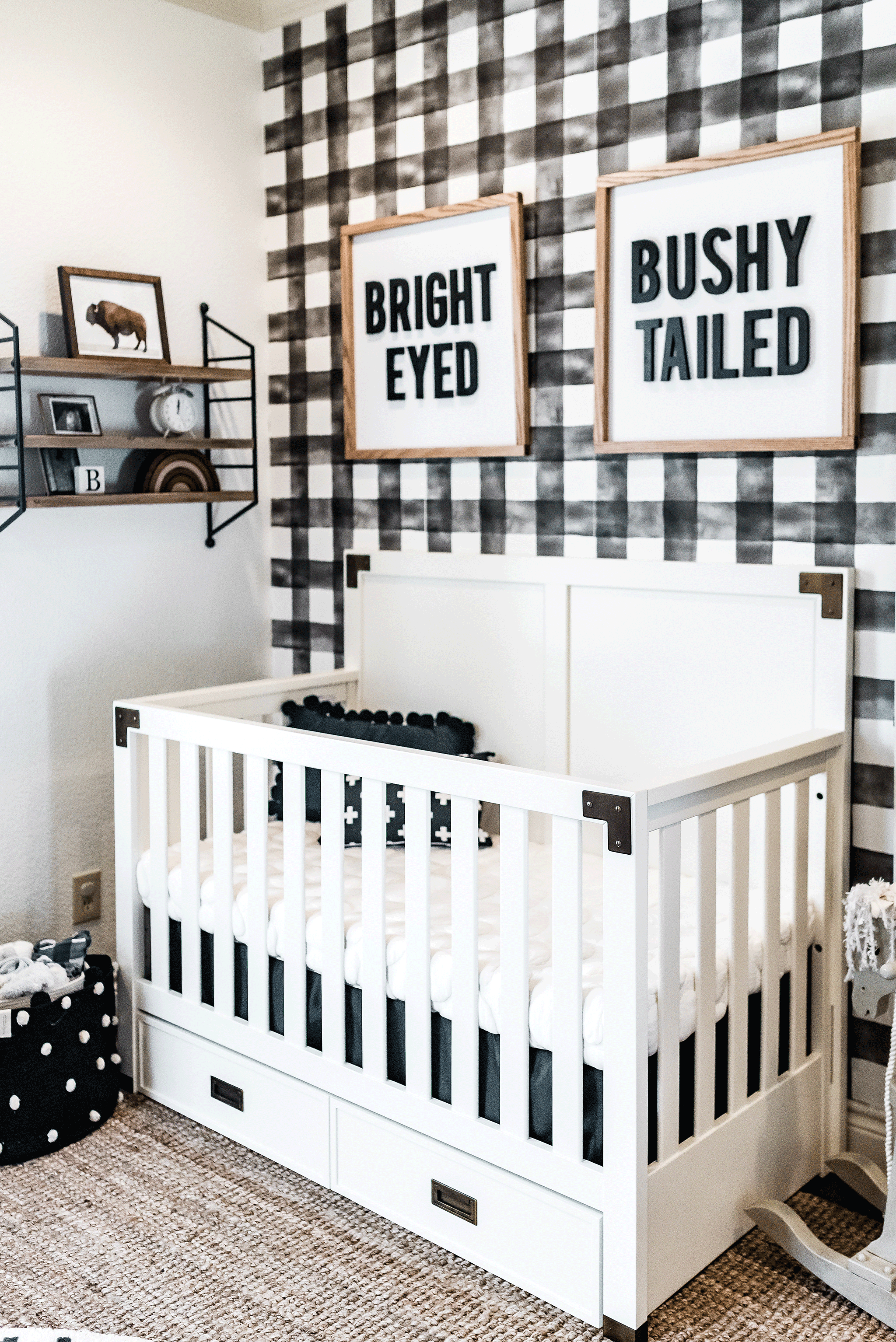 Ashlee Nichols Black and White Nursery