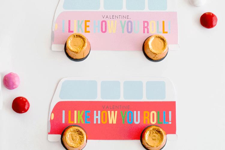 Rolos Free Printable Valentine