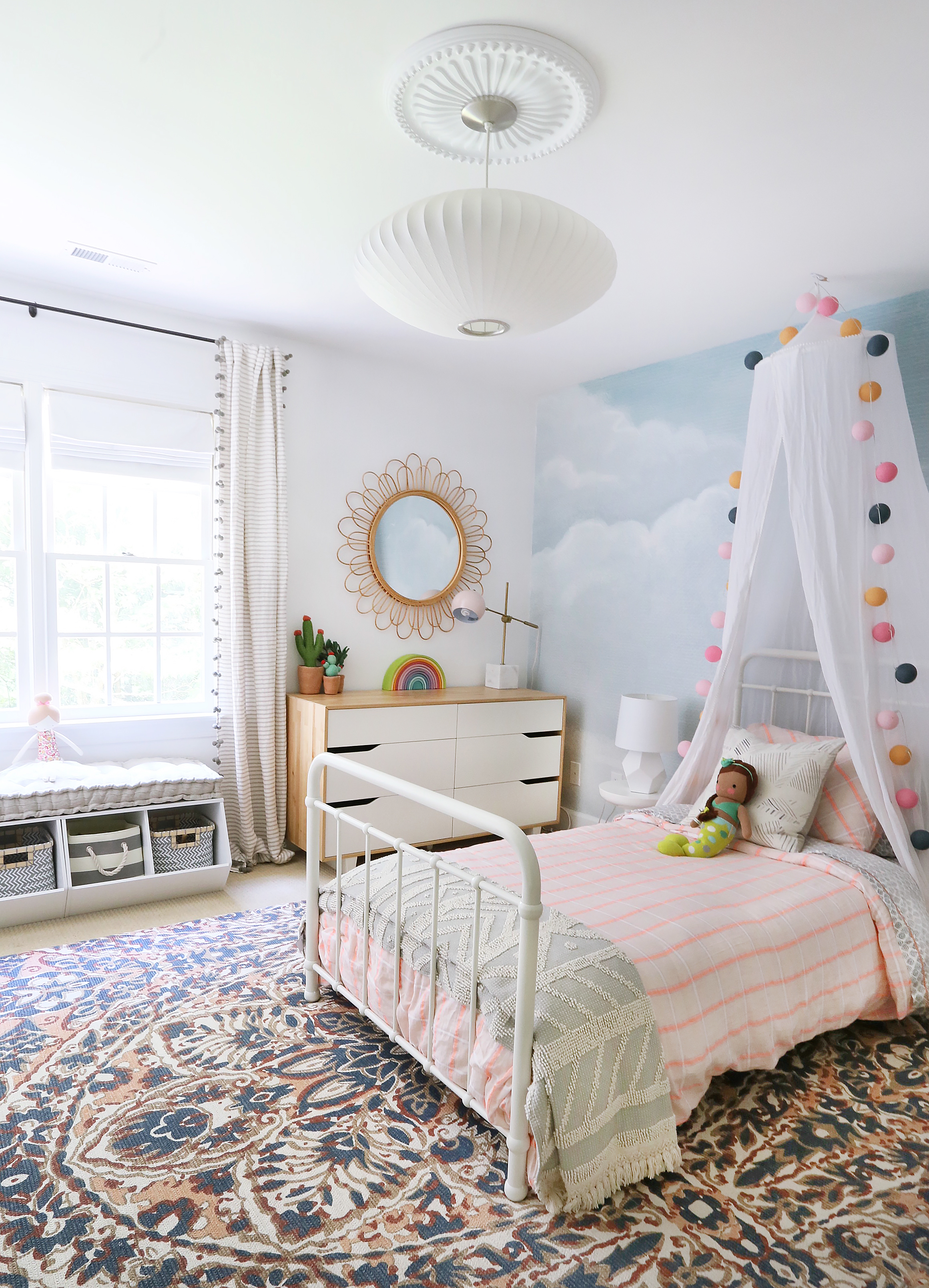 Whimsical and Sophisticated Girl's Room