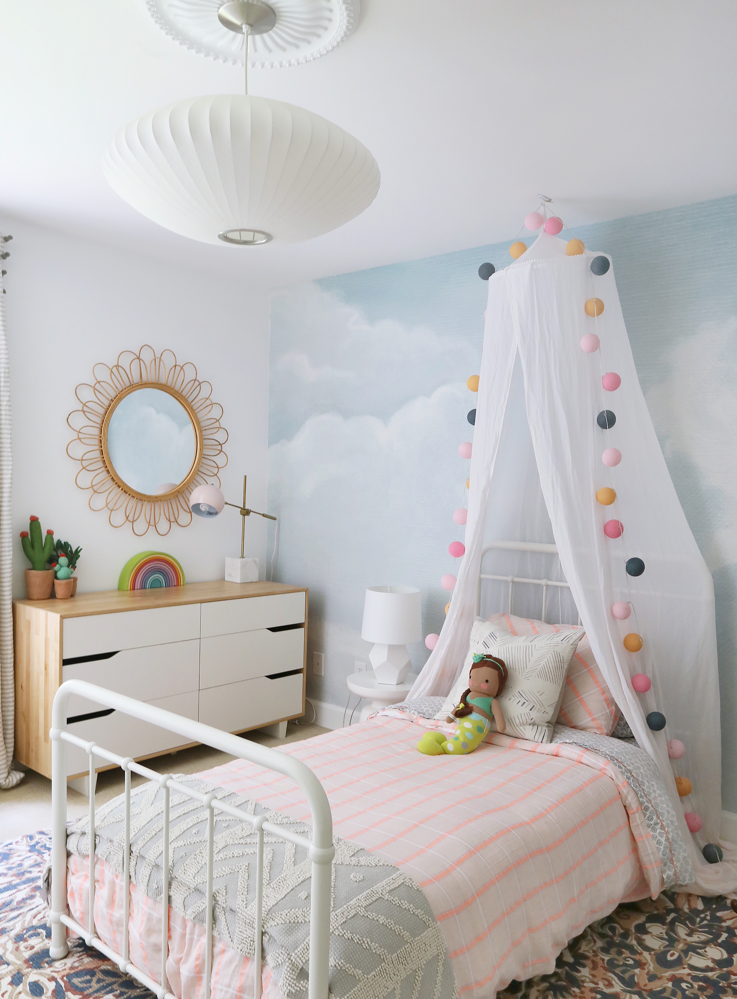 Whimsical Girl's Room