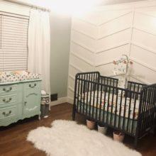 photo of Mint and Blush Nursery