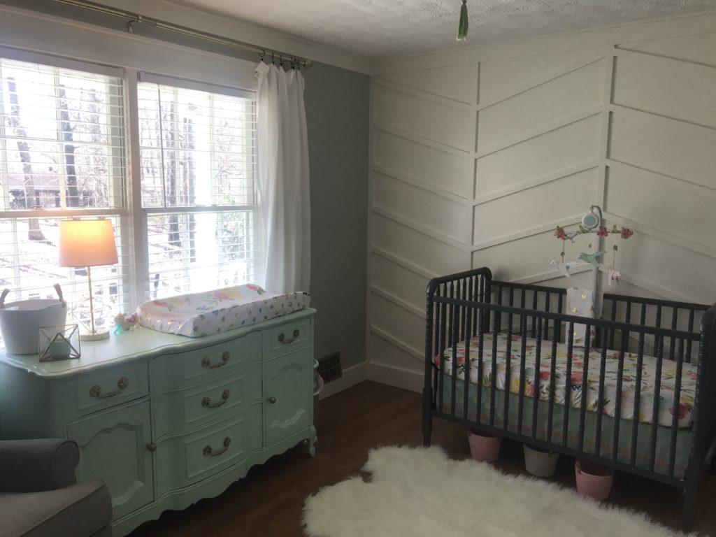 Mint And Blush Nursery Project Nursery