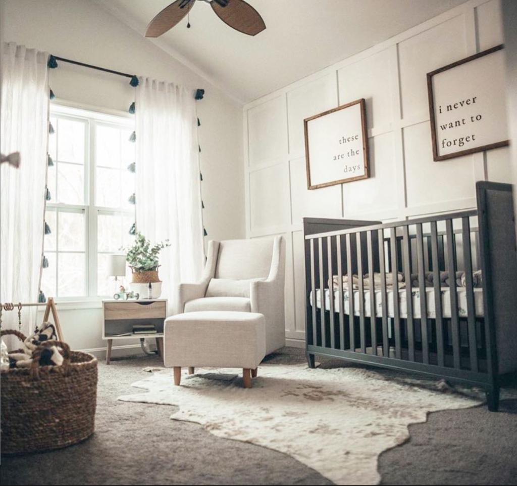 11 Cool Baby Nursery Design Ideas From Vertbaudet: 21 Board And Batten Looks In The Nursery