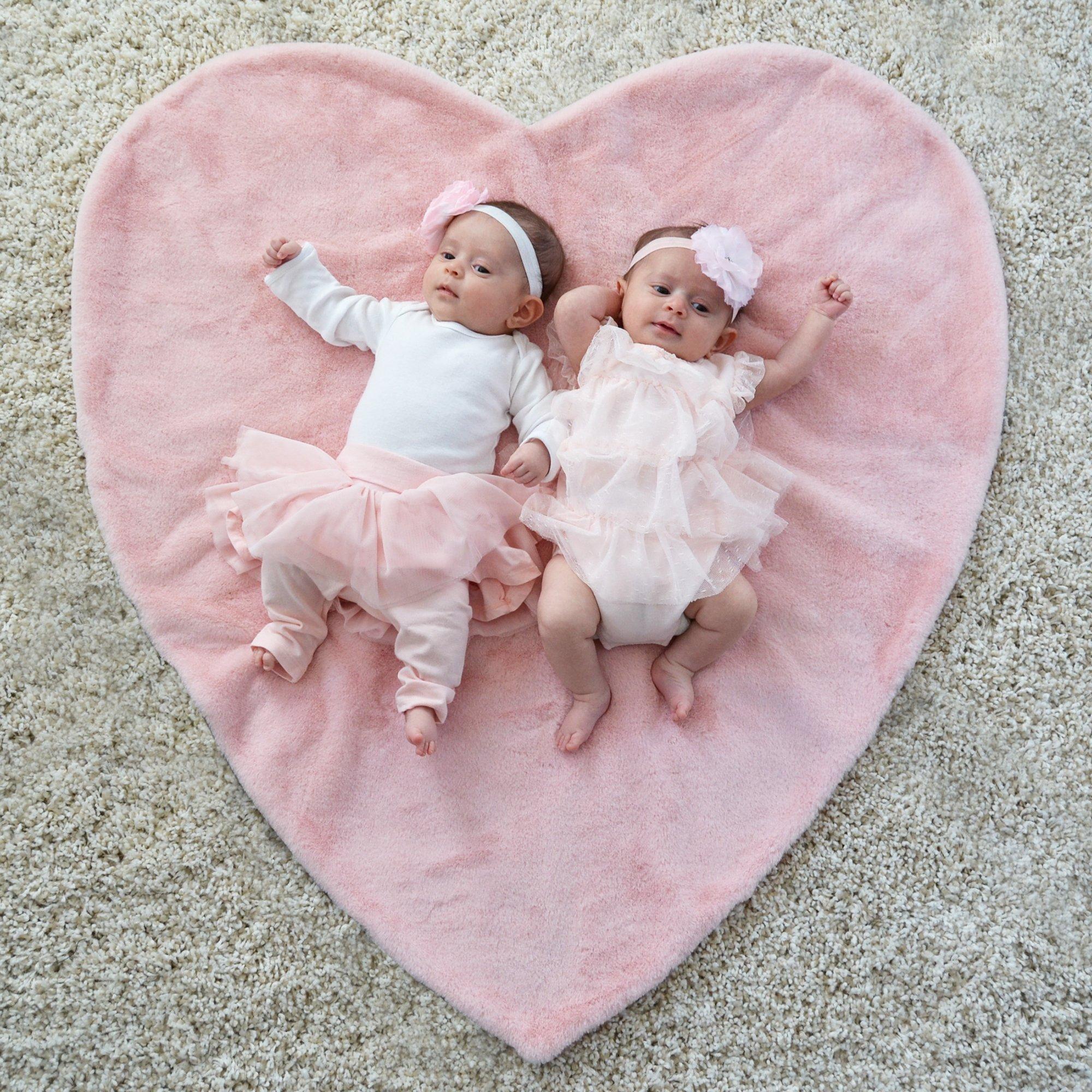 Plush Heart Blanket