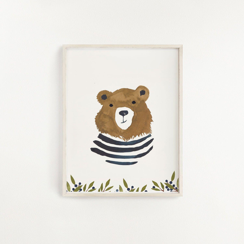 Hucklebear Art Print