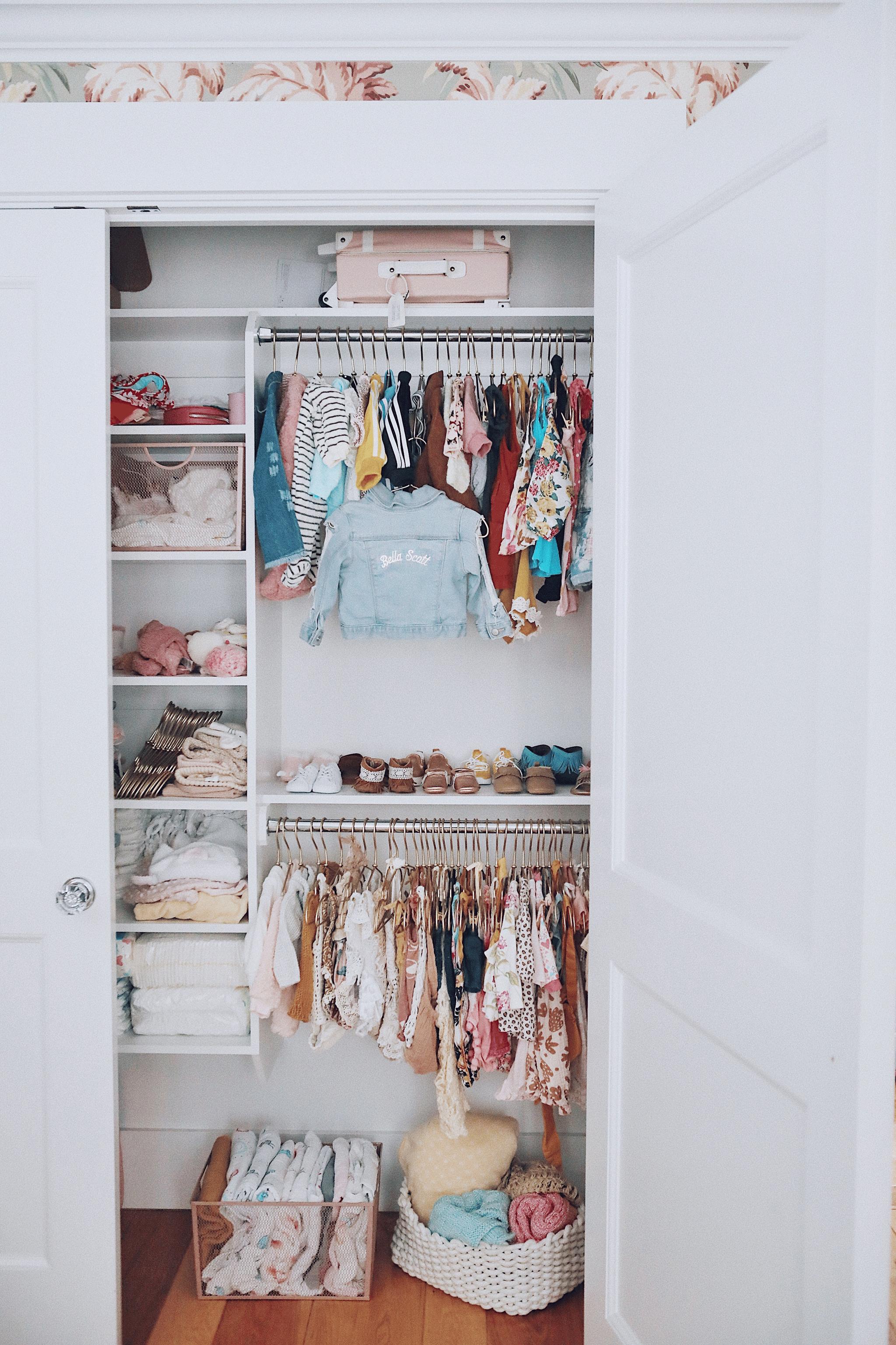 Katrina Scott Nursery Closet
