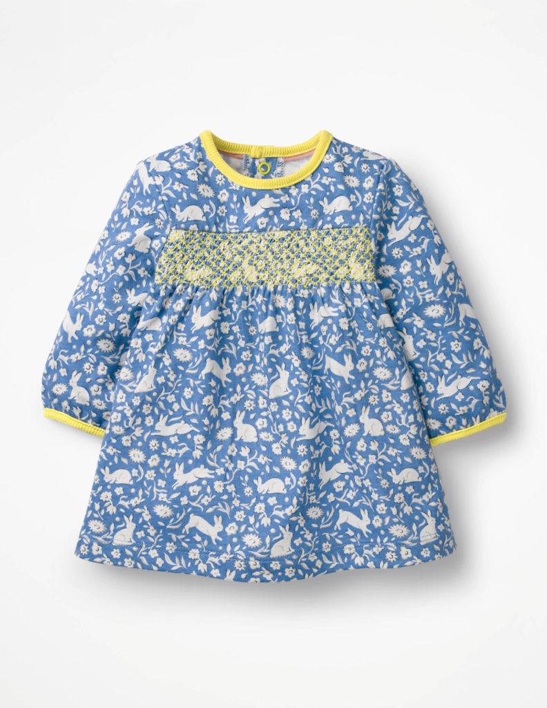 Smocked Bunny Dress