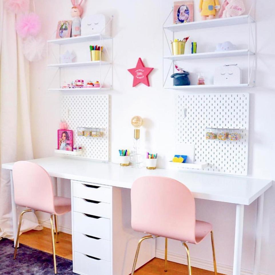 Shared Kids Desk by@inspo_by_israa