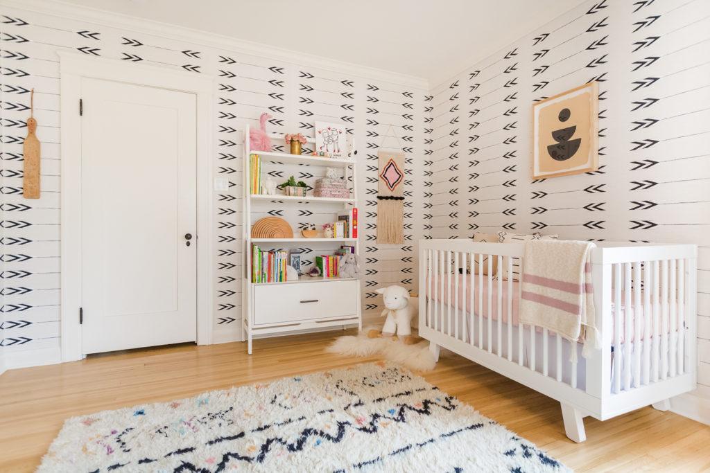 Elizabeth Tulloch's Mid-Century Inspired Nursery