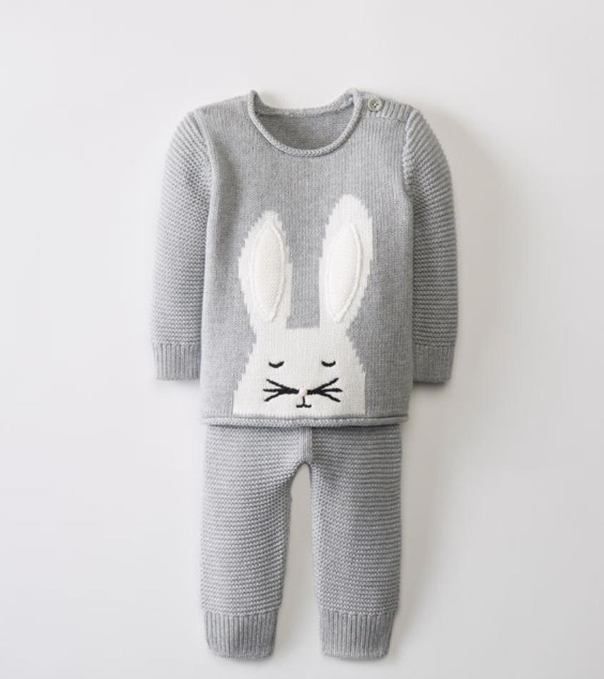 Bunny Sweater Set