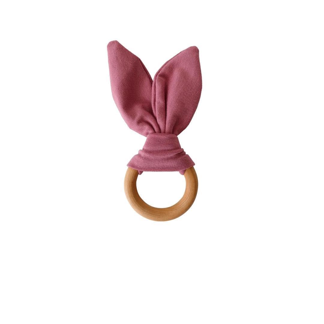 Crinkle Bunny Ears Teether