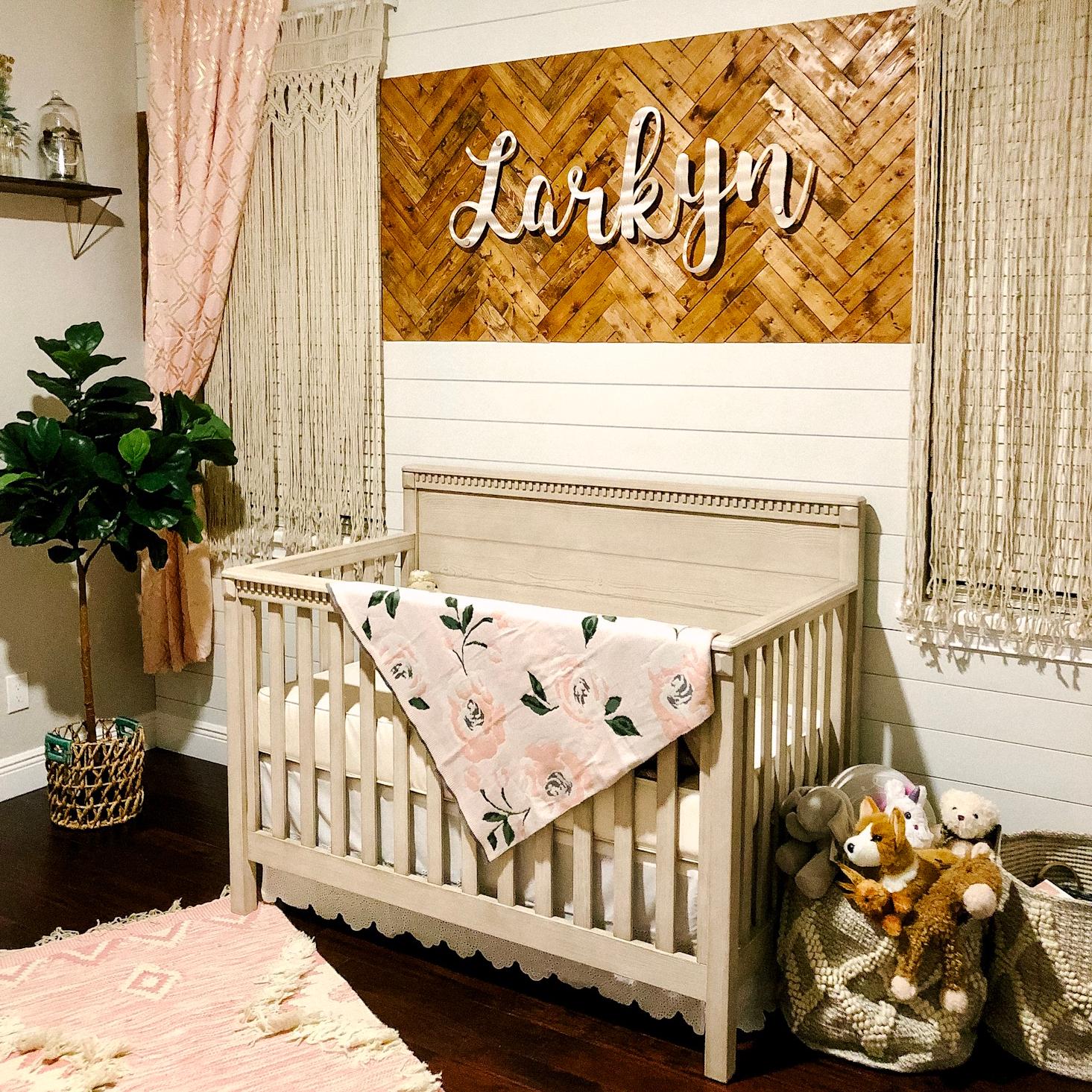 Boho Floral Dream Nursery