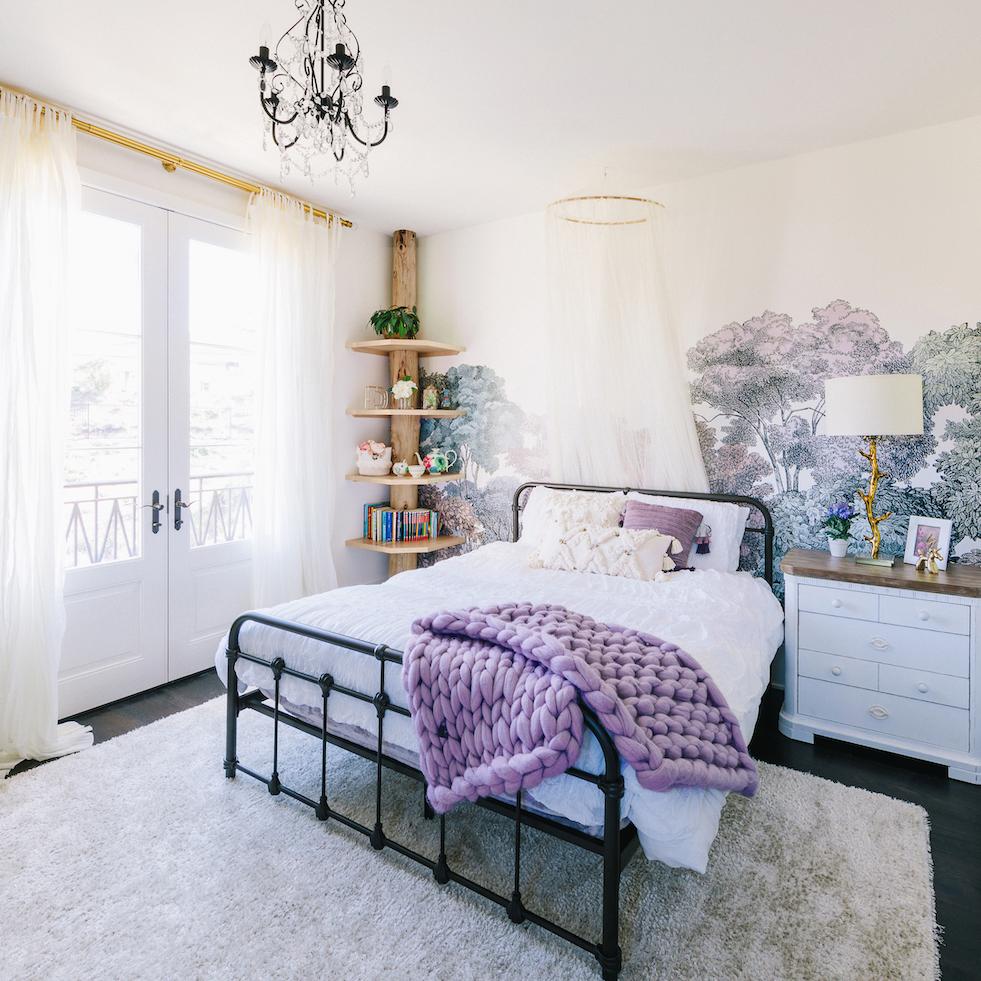 Natured-Inspired Girl's Room